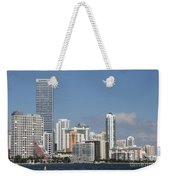 Skyline Miami Weekender Tote Bag
