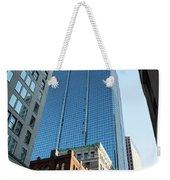 Skyscrapers In A City, Boston Weekender Tote Bag