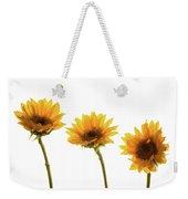 Small Sunflowers Or Helianthus Weekender Tote Bag