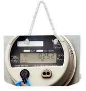 Smart Grid Residential Digital Power Supply Meter Weekender Tote Bag