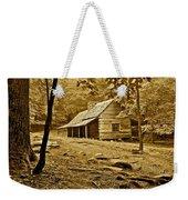 Smoky Mountain Cabin Weekender Tote Bag
