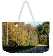 Smoky Mountain Road Trip Weekender Tote Bag