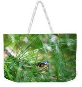 Snake In The Grass Weekender Tote Bag