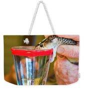 Snake Venom Extraction Weekender Tote Bag