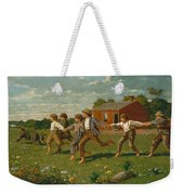 Snap The Whip Weekender Tote Bag