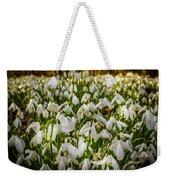 Snowdrop Woods Weekender Tote Bag