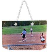 Softball Game Weekender Tote Bag