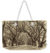 Southern Journey Sepia Weekender Tote Bag
