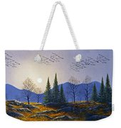 Southern Migration By Moonlight Weekender Tote Bag