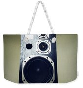 Speaker Weekender Tote Bag