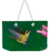 Speckled Hummingbird Weekender Tote Bag