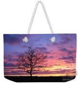Spectacular Sunset Epsom Downs Surrey Uk Weekender Tote Bag