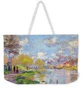 Spring By The Seine Weekender Tote Bag
