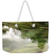 Spring Water Weekender Tote Bag by Les Cunliffe