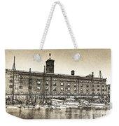 St Katherine's Dock London Sketch Weekender Tote Bag
