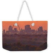 St Louis Skyline And Arch Weekender Tote Bag