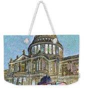 St Paul's Cathedral London Art Weekender Tote Bag