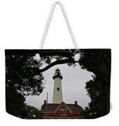 St Simons Island Lighthouse Weekender Tote Bag
