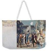 Stamp Act Riot, 1765 Weekender Tote Bag