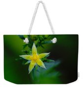 Starflower Weekender Tote Bag