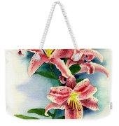 Stargazer Lilies Weekender Tote Bag
