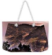 Starry Night Landscape Weekender Tote Bag