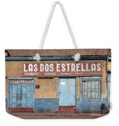 2 Stars Liquor Store Weekender Tote Bag