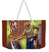 Stars Stripes And Exposure Weekender Tote Bag