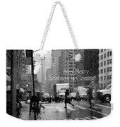 Stay Merry - Christmas Is Coming - Holiday And Christmas Card Weekender Tote Bag