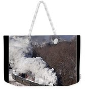Steam At Scranton Weekender Tote Bag