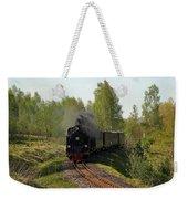 Steam Locomotive Weekender Tote Bag