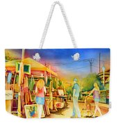 Street Art Fair Weekender Tote Bag
