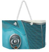 Street Car  Blue Grill With Headlight Weekender Tote Bag