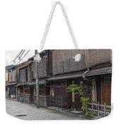Street In Kyoto Japan Weekender Tote Bag
