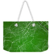 Stuttgart Street Map - Stuttgart Germany Road Map Art On Colored Weekender Tote Bag