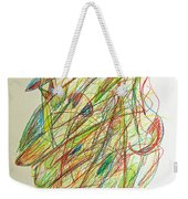 Subconscious Thought No. 1 Weekender Tote Bag