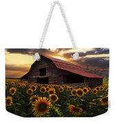 Sunflower Farm Weekender Tote Bag