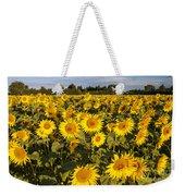 Sunflowers At Dawn Weekender Tote Bag