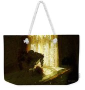 Sunlight Through Lace Weekender Tote Bag