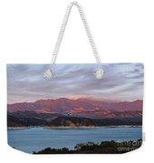 Sunset At Cachuma Lake Weekender Tote Bag