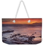 Sunset In Marbella Weekender Tote Bag