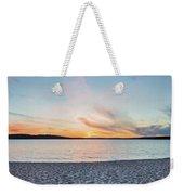 Sunset On South Bay, Lake Superior Weekender Tote Bag