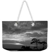 Sunset Over Colington Island On The Outer Banks Of North Carolina Weekender Tote Bag