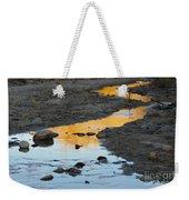 Sunset Reflected In Stream, Arizona Weekender Tote Bag