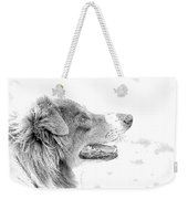 Sweet Puppy Weekender Tote Bag