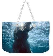 Swimming Elephant Weekender Tote Bag