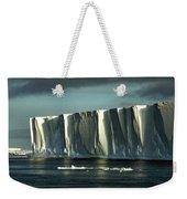 Tabular Iceberg Antarctica Weekender Tote Bag