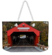Taftsville Covered Bridge Vermont Weekender Tote Bag
