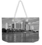 Tampa Skyline From Davis Islands Weekender Tote Bag