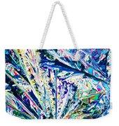 Tartaric Acid Crystals In Polarized Light Weekender Tote Bag